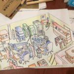 工場のイメージ図,レーザー溶接,東大阪,精密溶接