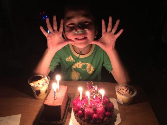 誕生日 長男 息子