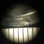 0.1mmレーザー溶接肉盛