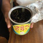 いなごの甘露煮の缶詰