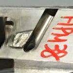 材質HPM38をレーザー溶接と精密TIG溶接とで肉盛