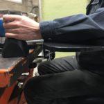 肘置きを強化して姿勢の改善