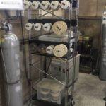 溶接ワイヤー,棚作り