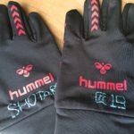 新しい手袋