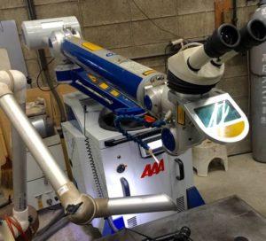レーザー溶接機ALM250,レーザー溶接機