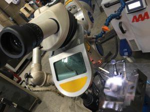 金型のレーザー肉盛補修,レーザー溶接,レーザー肉盛補修